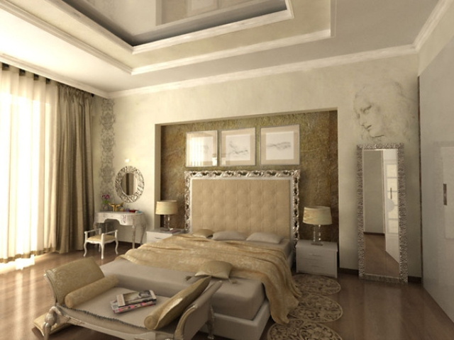 Home Auditorium Elegant Modern Classic Bedroom Design Beautiful Homes Design