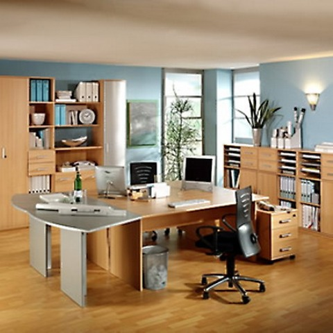 The Office Furniture Arrangement Ideas  Beautiful Homes