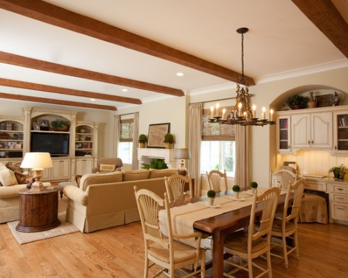 Country French Living Room Dcor Beautiful Homes Design