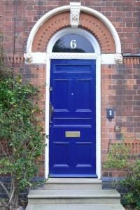 Cobalt Blue Front Door | Beautiful Homes Design