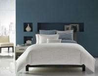 Gray-Blue Bedroom | Beautiful Homes Design