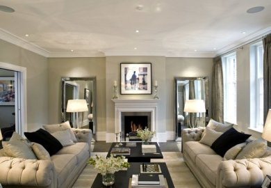 Gray Accent Wall Home Design Ideas Pictures Houzz