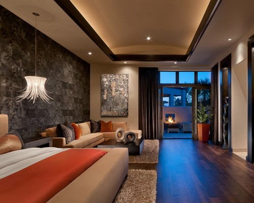 beautiful tropical bedroom design Exciting Bedroom Colors | Beautiful Homes Design