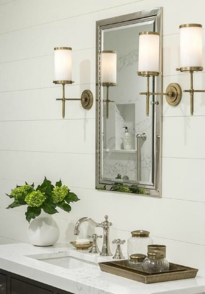 bathroom vignette