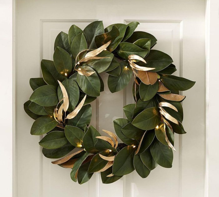 Pottery Barn Christmas Wreath
