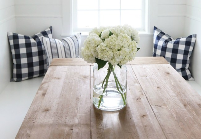 How to Decorate With Buffalo Check Fabric