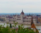 Pest panorama, with the parliament