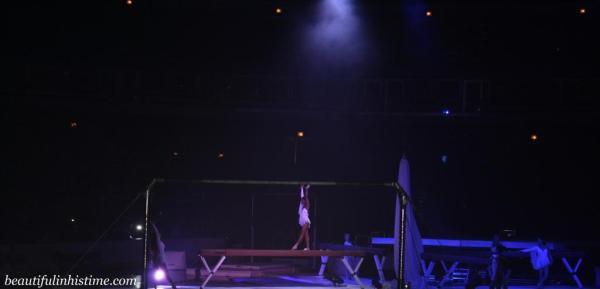 Kellogg's Tour of Gymnastics Champions Gabby Douglas Beam