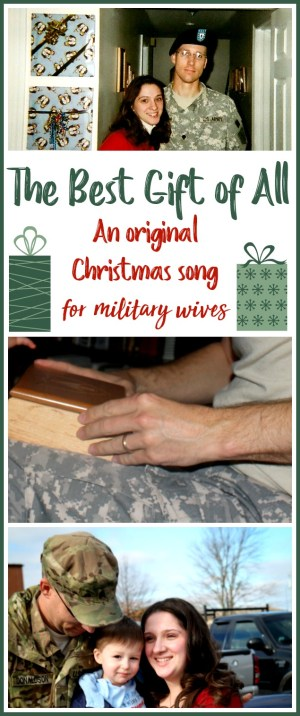 The best gift of all: A Christmas Song for Military Spouses