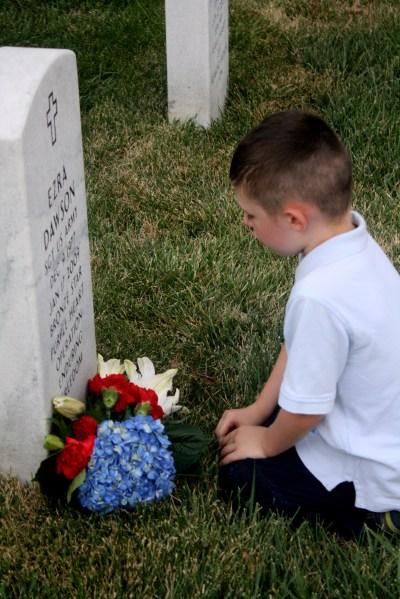 Ezra Dawson, Fallen Hero: Honoring our son's namesake on Memorial Day