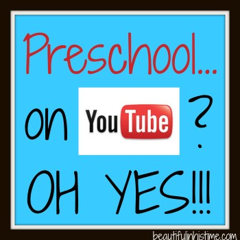 preschool on youtube