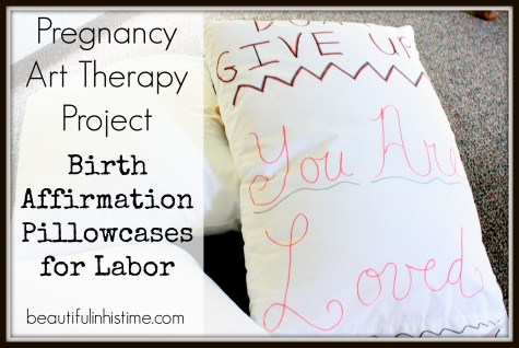 birth affirmation pillowcases