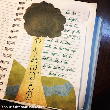 Bible Journaling: Art Therapy for my Bible Scars
