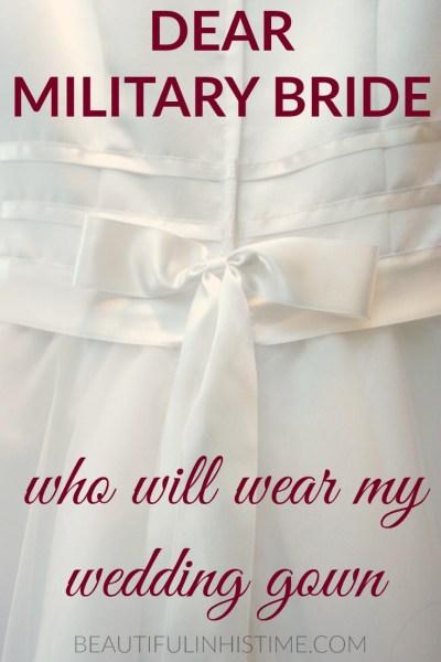 dear military bride