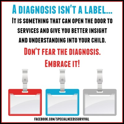 embrace the diagnosis