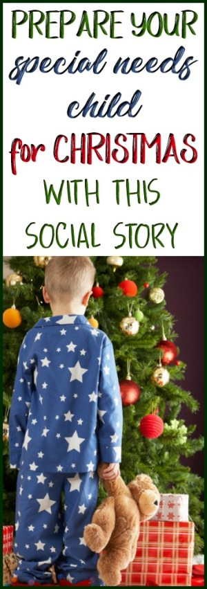 Prepare your special needs child for Christmas with this social story!