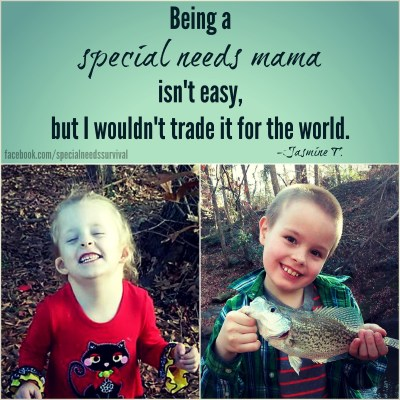 Being a special needs mama isn't easy