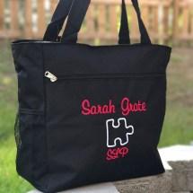 Personalized SLP Tote Bag