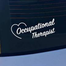 Occupational Therapist OT Vinyl Decal