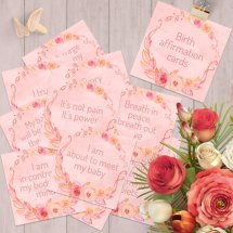 Birth affirmation 20 card set