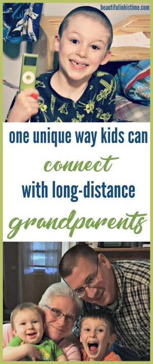 One unique way for kids to stay connected to long-distance grandparents | Today's technology allows my children to stay connected to their grandparents far better than kids did a generation or two ago. | Grandma records stories and sends the digital files, which my kids listen to at bedtime and naptime.