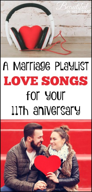 Our Eleventh Anniversary: Musings & a Marriage Playlist | As I laid in bed with my legs over his, I started thinking about the soundtrack of our marriage. Here are eleven songs for your eleventh anniversary.