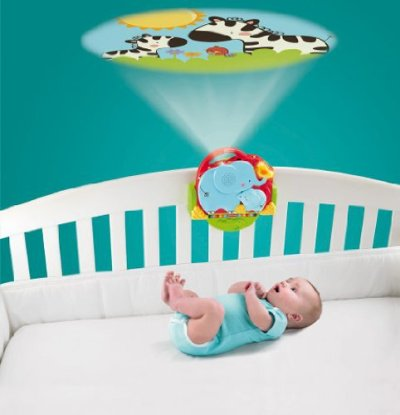 soothing baby projector