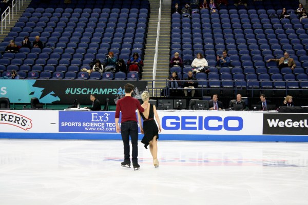 US Figure Skating Championships 2020 Toyota Greensboro Coliseum Hubbell Donohue
