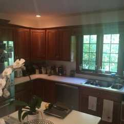 Kitchen Facelift Kohler Sink In Wellesley Ma Beautiful Interiors