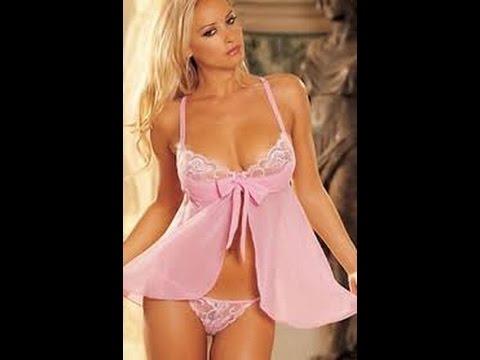 ملابس نوم مثيرة جدا لانجيرهات انثوية ودلع للنوم قلوب فتيات