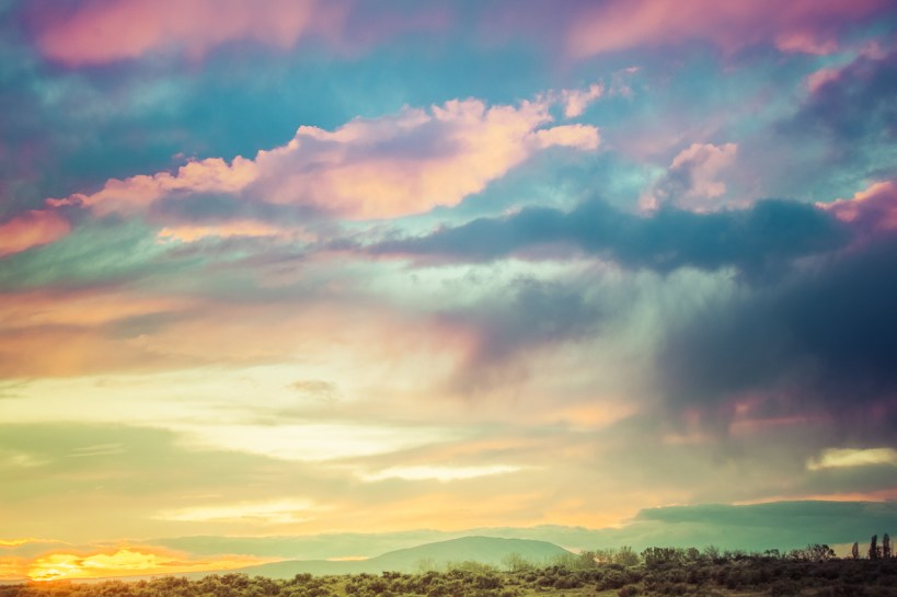 Morning Over The Desert