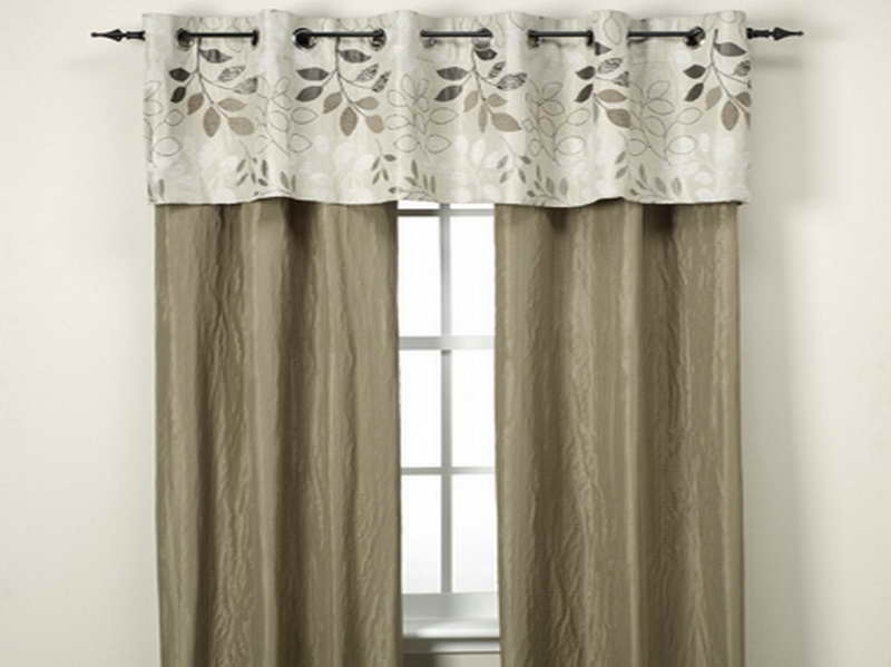 Sewing Tips  Simple curtain with patterned border  Life