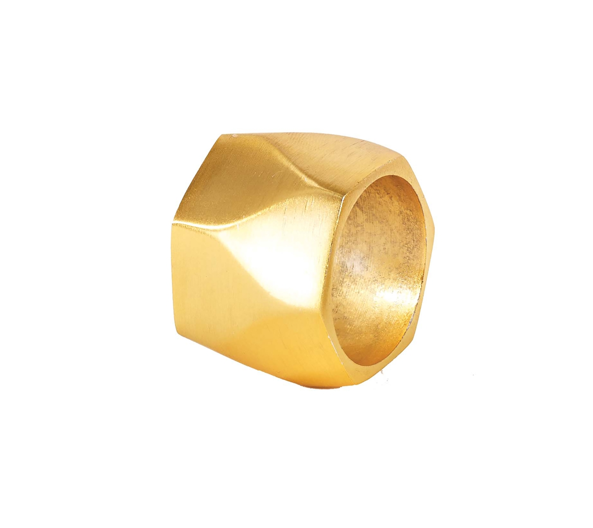 Bodrum Arch Gold Napkin Rings (Set of 4)
