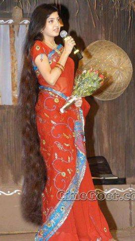 long hair Poonam kaur hot