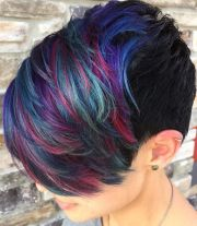 hair color ideas short