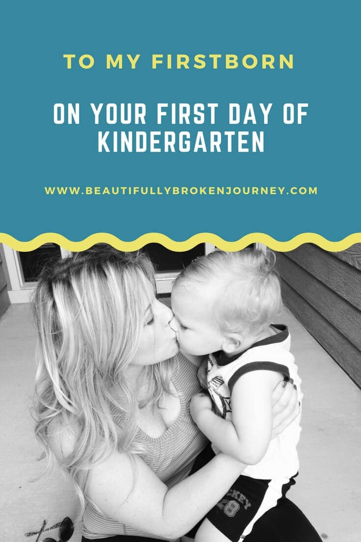 Just like that, your little years are behind us.  Gone are the days of playdates and naps.  Kindergarten is a brand new adventure, just another