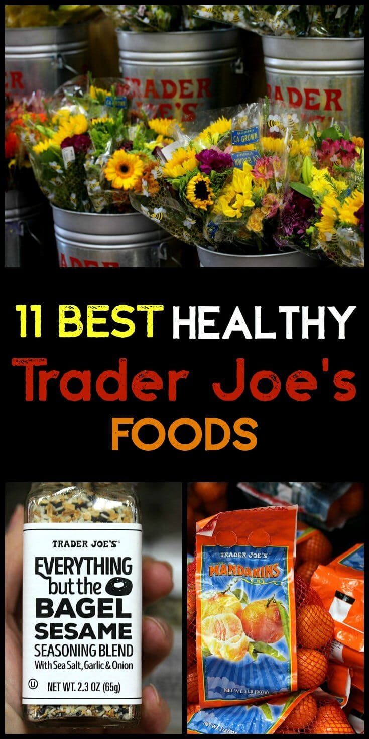 Eating healthy doesn't have to be boring!  Today I'm sharing my 11 best healthy Trader Joe's foods... what do you think made it on my list?