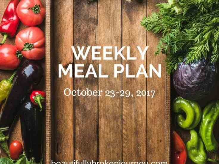 My weekly meal plan that is Weight Watchers and family friendly! Eating healthy doesn't have to be boring, and kids should love it, too!