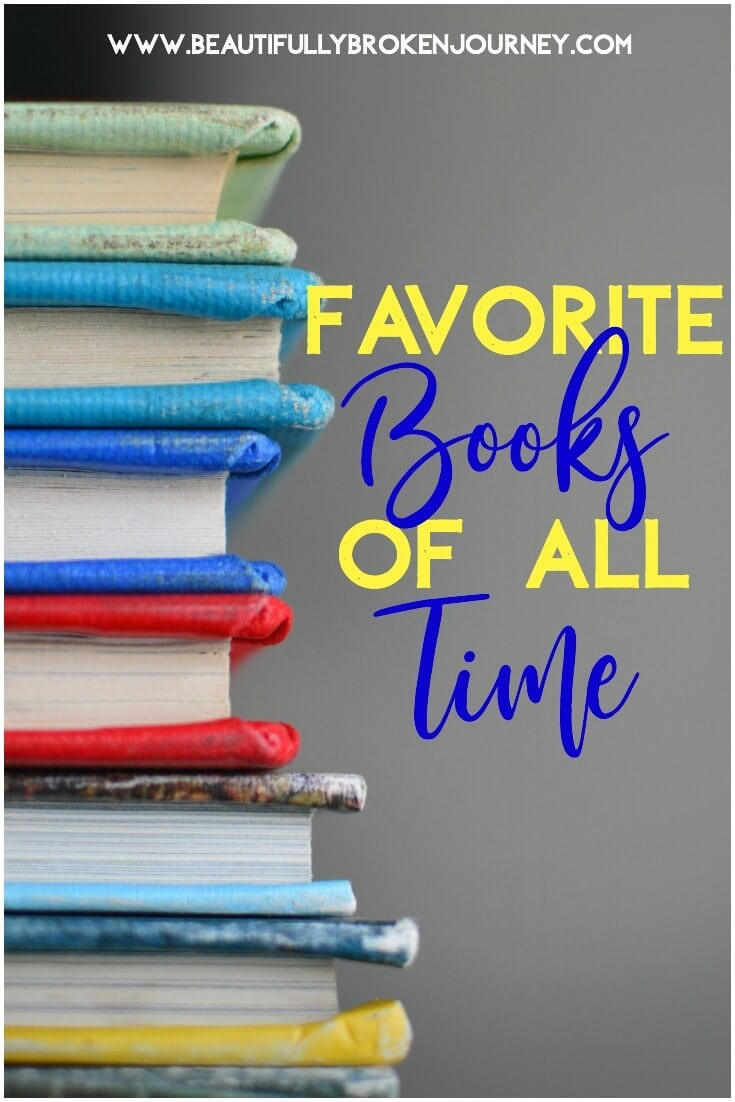 Reading has always been one of my favorite hobbies.  Getting lost in a good book is one of my favorite ways to escape.  Here are some of my favorite books of all time!