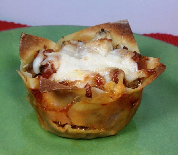 Weekly Meal Plan- Lasagna Cupcakes