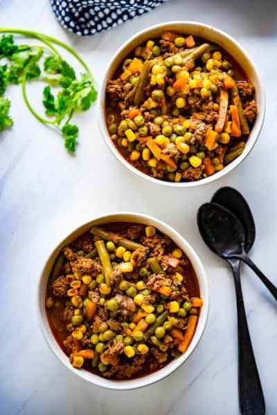 Cold weather has arrived and I'm making a recipe I've always loved. One Pot Vegetable Beef Soup was a favorite growing up and it's so simple to make! #onepotrecipes #onepot #beautifullybrokenjourney #souprecipes #beefvegetablesoup #soup #vegetables