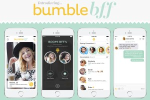 Bumble BFF, online friend site