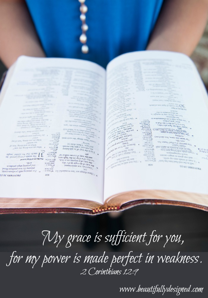 grace is sufficient for you