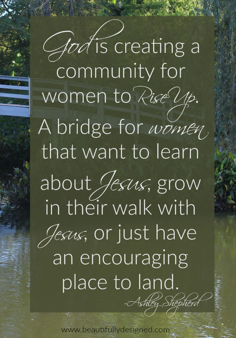 god is creating a community