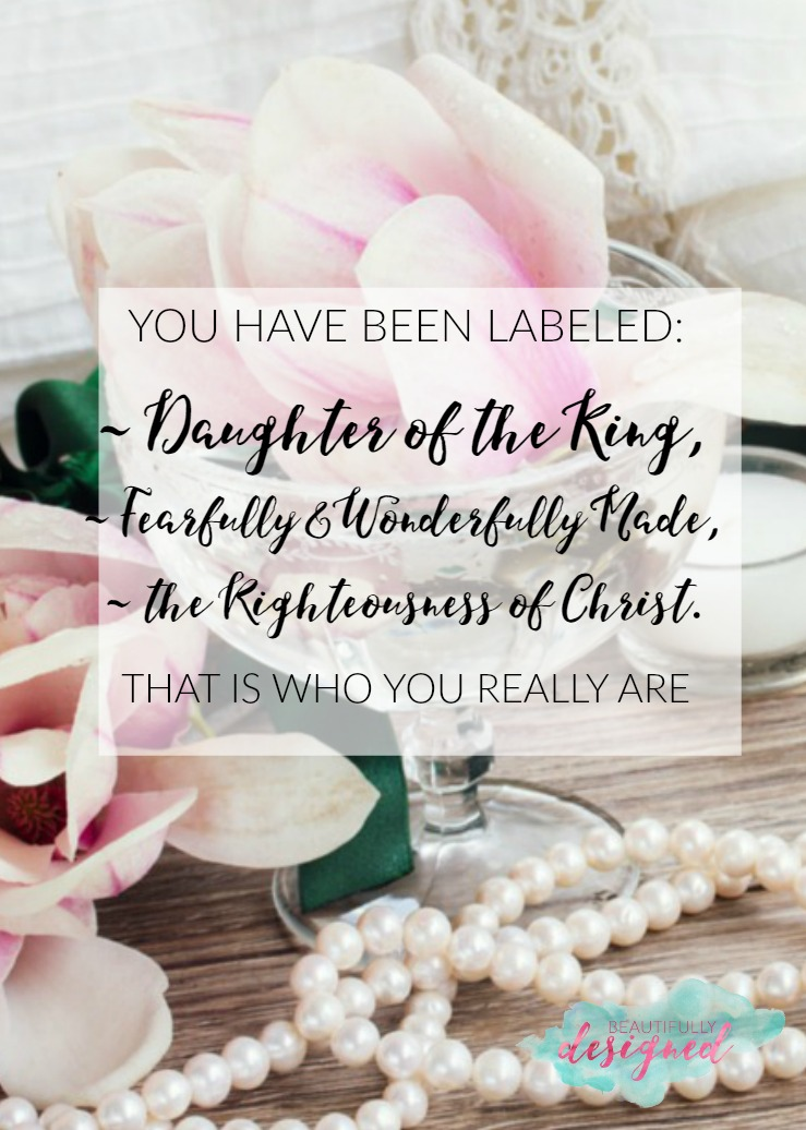 you have been labeled 1