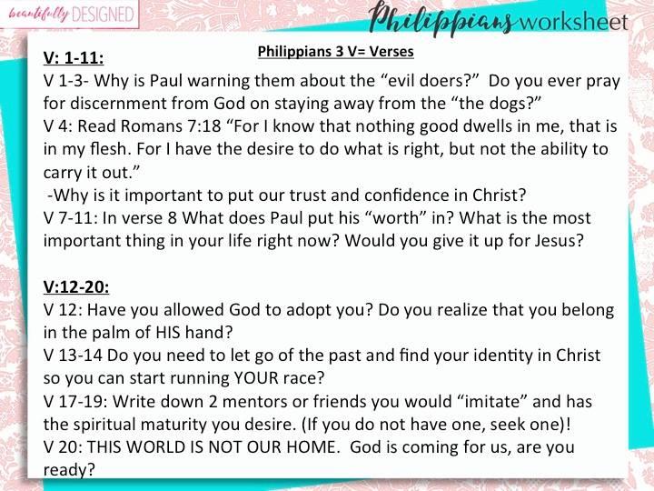 Philippians 3
