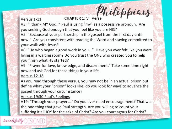 philippians chapter 1