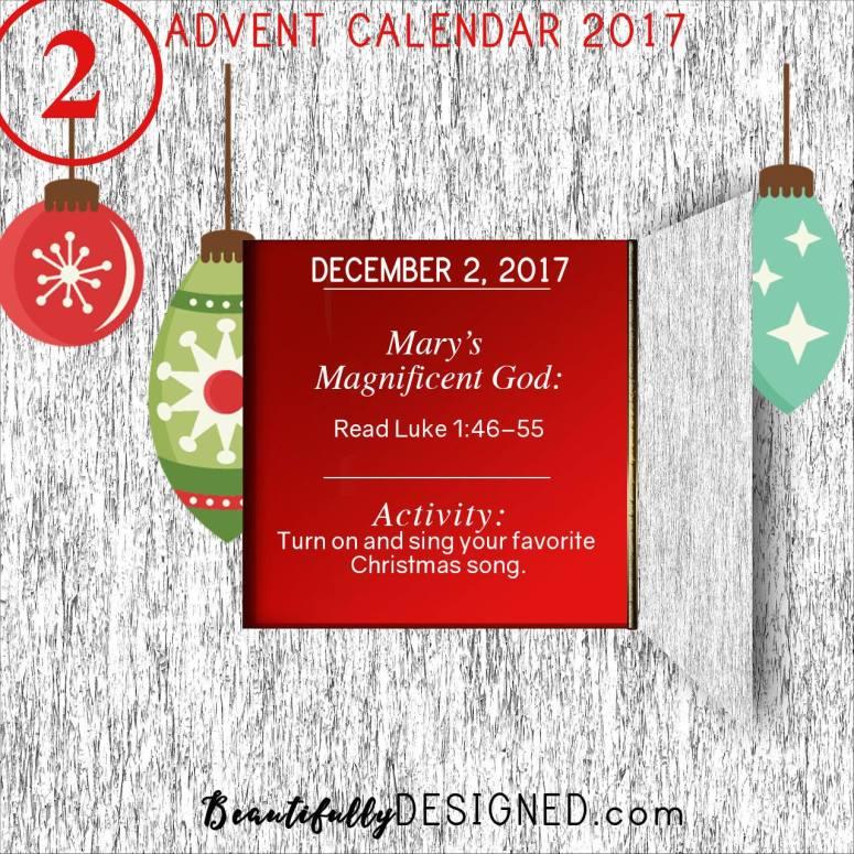 Advent Calendar Day 2