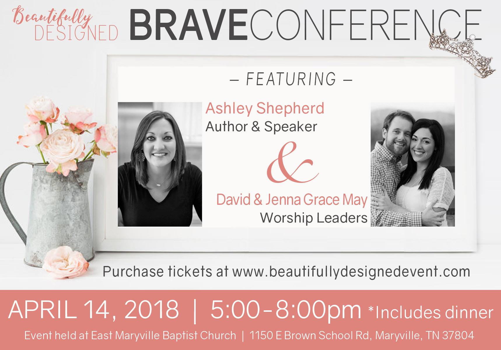 Beautifully Designed Conference BRAVE 2018
