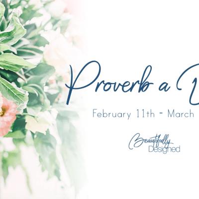 Proverbs: Week 4